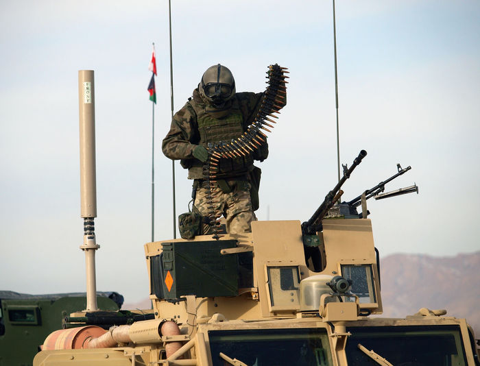 Military, War, Isaf, Nato, Soldier, Soldiers, Afghanistan, Ghazni, Gun, Photojournalism, Polish, Poland, Us Army, Polish Army, Military Vehicle, Helicopter, Mi17, Locals, Documentary Photo, Shot, Dramat,