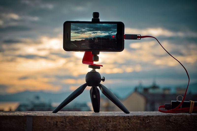 Technology No People Photography Themes Camera - Photographic Equipment Photographing Sky Outdoors Timelapse Timelapse Shooting IPhone7Plus