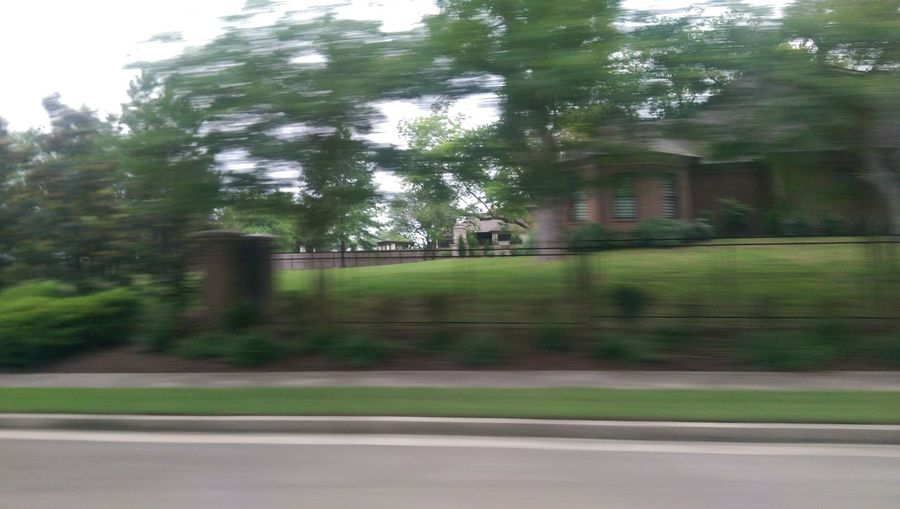 Blurred Motion Blur Houses Backgrounds