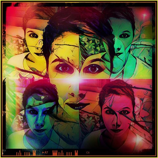 My PopArt Prisma PicArt Popart Picture Girl Selfie Colourful MyArt Edits Eyes ForEyeEm Collage Picsart
