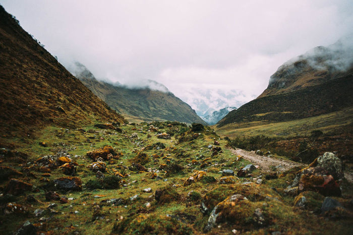 Beauty In Nature Geology Hiking Landscape Machu Picchu Mountain Mountain Range Outdoors Peru Physical Geography Rock - Object Salkantay Snowcapped Mountain Trail Trecking Valley
