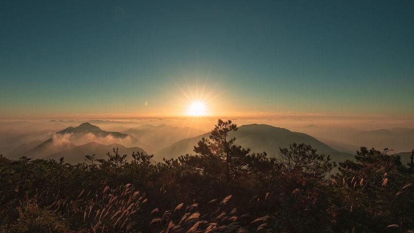 Beauty In Nature Environment Idyllic Landscape Nature Scenics - Nature Sky Sunset Tranquility