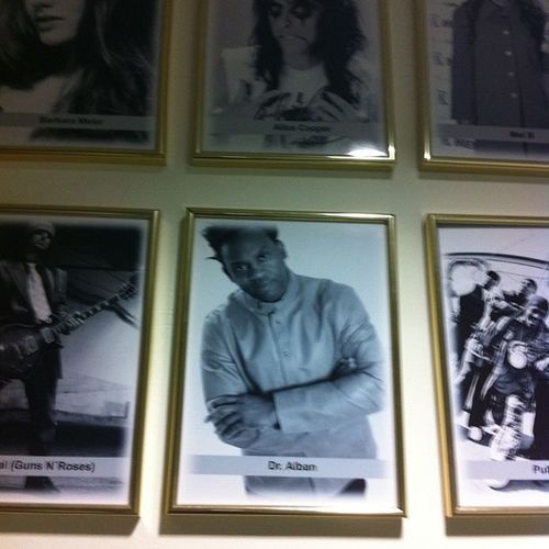 Wall of fame,park plaza Berlin Dralban