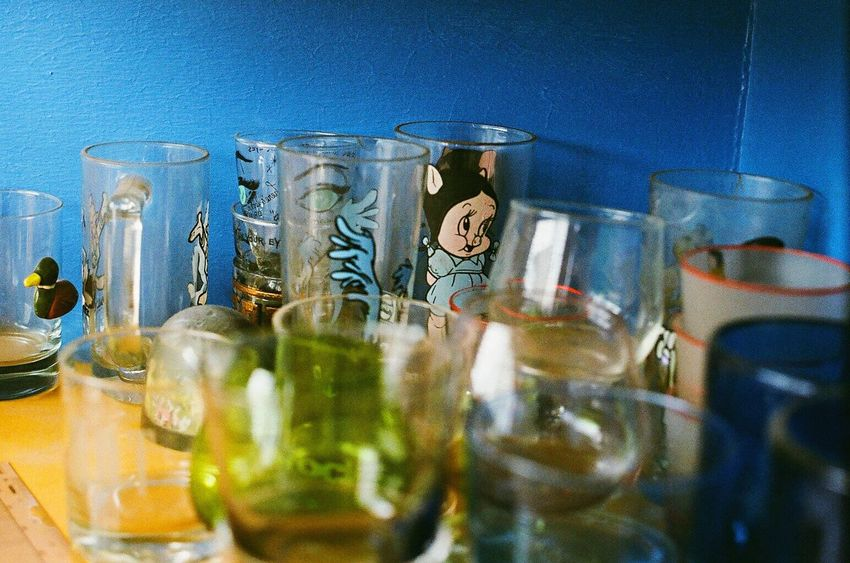 Indoors  Shot Glass Indoors  Zenit122 Koduckgirl Lomo400 Film
