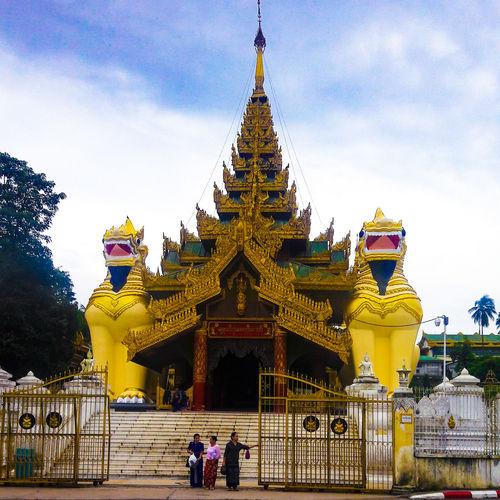 Shwedagon Pagoda Shwedagon Pagoda Mynmar Yangon, Myanmar Yangon Tourism Temple Architecture