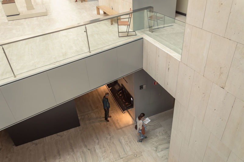 National Museum of Archaeology of Madrid Ancient Ancient Civilization Archaeology Archeology Architecture Culture Foyer Greek Hall High Angle View History Indoors  Landmark Modern Modern Architecture Museum People Roman Ruins Spaces Tourism Travel Travel Destinations