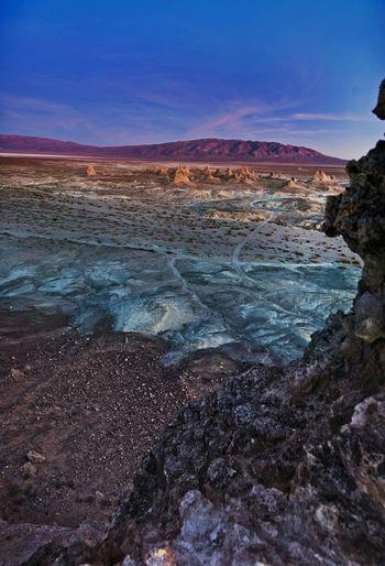 The Painted Land - Trona Pinnacles, Mojave, California