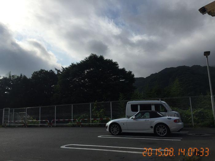 笹子峠経由、道の駅たばやまにむかいます Driving