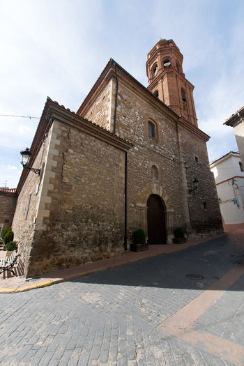Utrillas Terual Moseo minerio y alrededores. Octubre 2018 2018 October Teruel Utrillas Architecture Belief Building Building Exterior Built Structure City Cloud - Sky Day Eddl History Low Angle View Nature No People Outdoors Place Of Worship Religion Sky Spirituality The Past Tower
