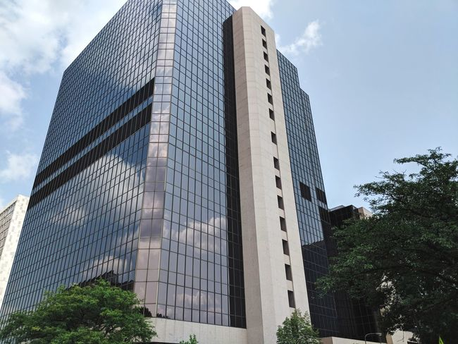 One of the many Mayo Clinic buildings Backgrounds Day Sun Summer City Tree Modern Skyscraper Politics And Government Sky Architecture Building Exterior Built Structure Tower Tall Civilization Cityscape Skyline Downtown Urban Scene Crowded Office Building Urban Skyline Historic Tall - High Financial District