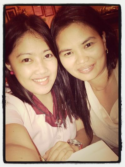 With Ma'am Emma At Chrisven :)