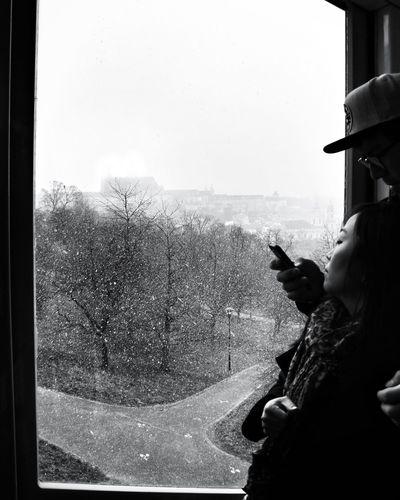 People Blackandwhite Streetphotography Portrait Snow