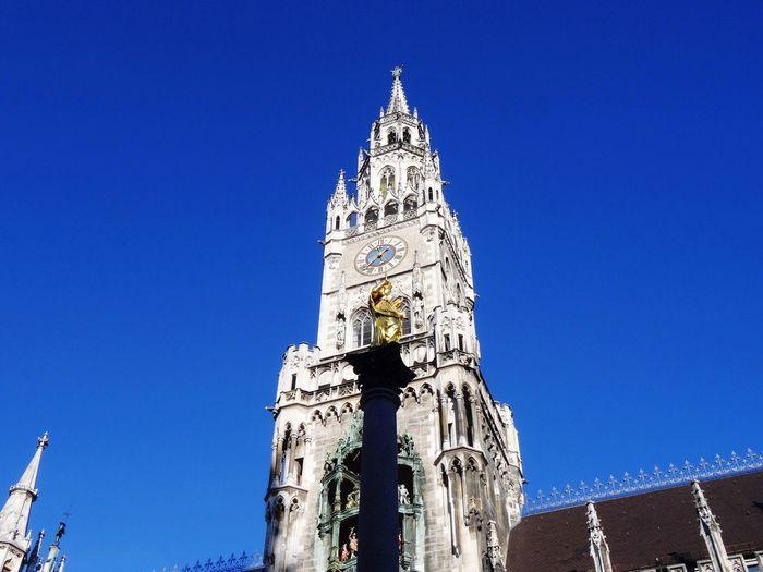 Rathaus Architecture Marienplatz