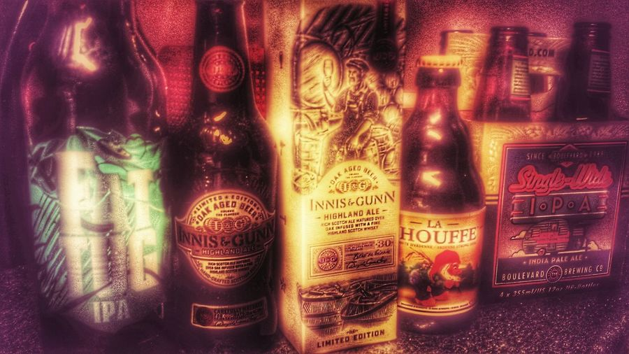 I Love Beer Craftbeer Enjoying Life Hdr Edit Hdr_Collection Retro Style Relaxing