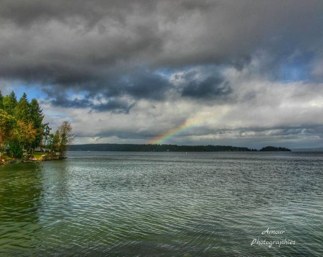 Beautiful Aftermath . Amour Photographies Naturelovers Simple Photography Rainbow Vancouver Island Exploring Nature Nature Photography Nature Nature On Your Doorstep Beautiful British Columbia Canada Showcase March Life In Motion Explore Canada  Explore More Outdoor Life