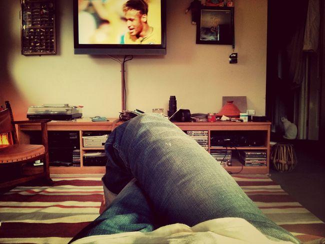 Geoff Geoff is not interested in football.