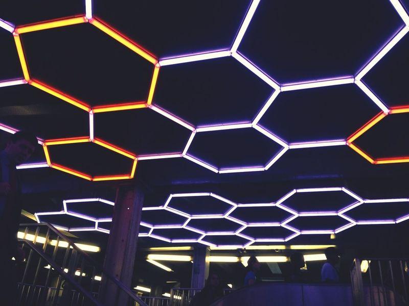 Hexagonporn Geometry Installation