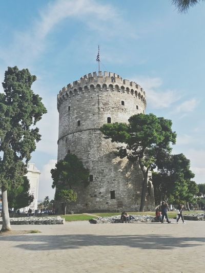 Architecture Sunlight History Castle Sky Outdoors Thessaloniki Greece Nature Day EyeEm Best Shots The Week On EyeEem