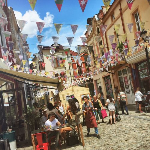 The Street Photographer - 2017 EyeEm Awards Street Day City People Restaurant Sun Sky Festive Old Town
