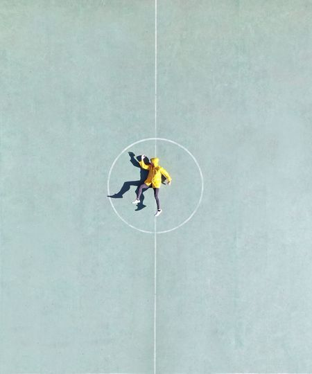 people and places Shadow Drone  Aerial Greece Minimalism Dronephotography Field High Angle View Day Men People Full Length Geometric Shape Sign Outdoors Copy Space Circle Real People RISK Aerial View Shape Directly Above My Best Photo My Best Photo The Minimalist - 2019 EyeEm Awards