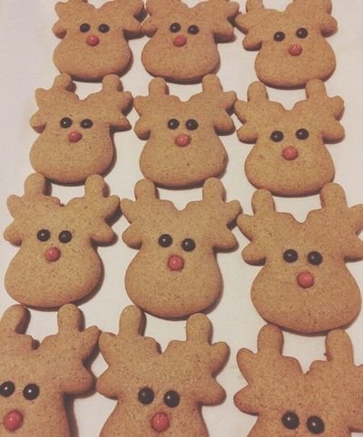 Christmas Xmas Xmas Time Xmas🎄 Gingerbread Ginger Cookie Reindeer Christmastime Christmas Is Coming Cookies
