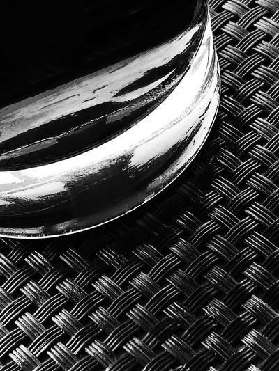 Abstract Arrangement Black Black & White Blackandwhite Close-up Design Detail Drink Filter Focus On Foreground Glass In The Bar Long Drink Monochrome Part Of Pattern Reflection Selective Focus Shiny Single Object Temptation Macro_collection Fine Art Photography