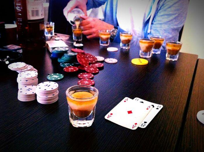 Poker Night Playing Poker Ace