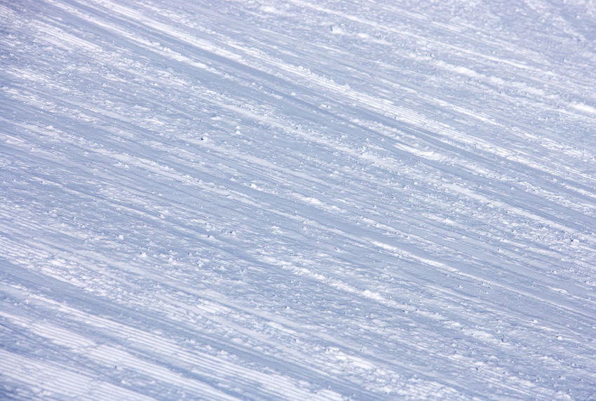 Abstract Background Backgrounds Beauty In Nature Close-up Day Downhill Skiing Full Frame Nature No People Outdoors Pattern Ski Lane Structure And Nature Textured  White Snow Hill Wintersports Background