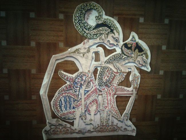Art of indonesia Art Wayang Art INDONESIA First Eyeem Photo Couple Java Javanese Culture