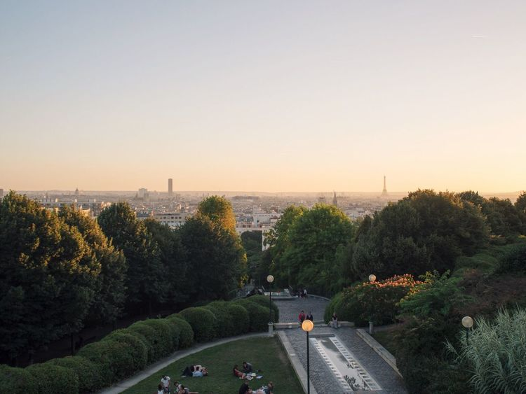 Belleville Summer Summertime Streetphotography Paris Landscape Eye4photography  Sunset_collection