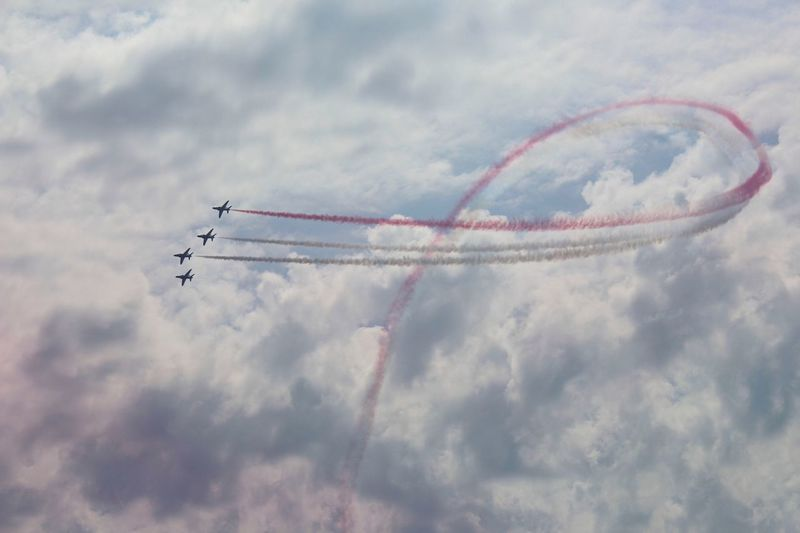 I took this photo along with a few others of the red arrows performing at bournemouth airshow two years ago. First Eyeem Photo Redarrows Bournemouth Airshow Airshowphotography