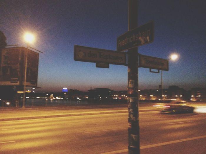 Sunset rush at 11:30PM