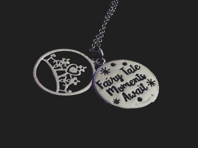 My new necklace 💙👑 Princess Fairytale  Believe Believer Necklace Disney Magic Magical Check This Out