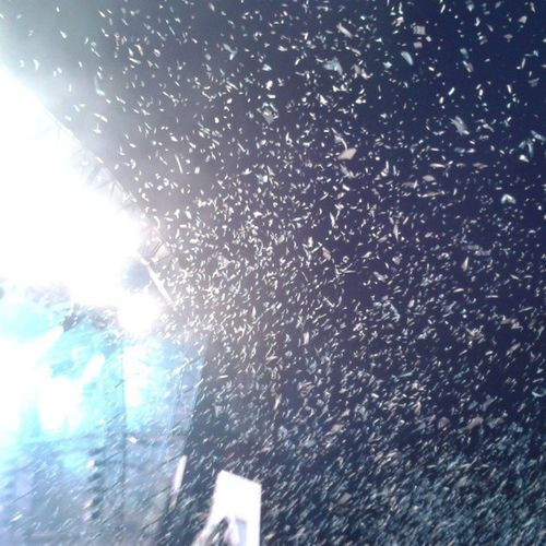 Confetti when biffy were closing! Magic BiffyClyro Obw Onebigweekend radio1 music awesome confetti