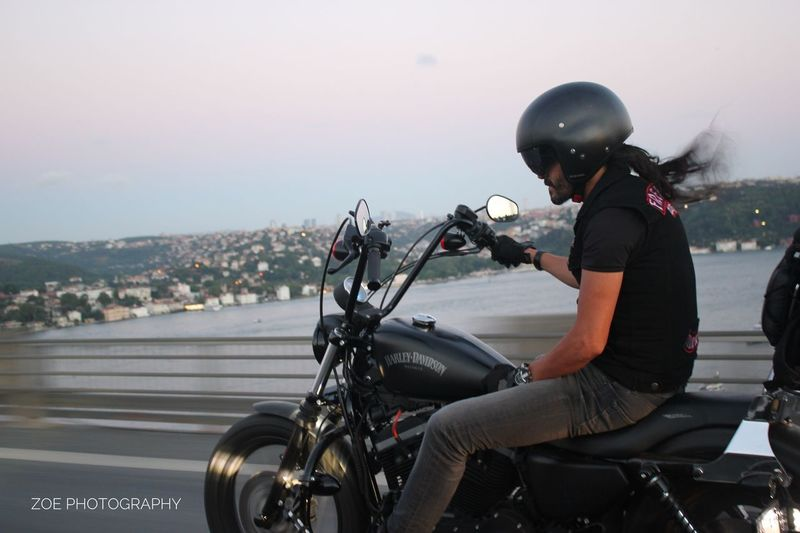 Motorcycle Transportation Healthy Lifestyle Bosphorus Bosphorus, Istanbul Sunset Traffic Streetphotography Chopper HarleyDavidsonMotorcycles Harleydavidson Outdoors City Digitalphotography Nofilternoedit Istanbul Turkey Canon Canoneos550d Istanbul Nophotoshop Motorcycle Bosphorus Bridge Bosphorus Istanbul Bosphorus Sunset Marmara Sea