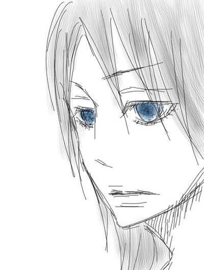 Art Illustration Blue Eyes Drawing My Art Work YohkoAmaterraArt Manga