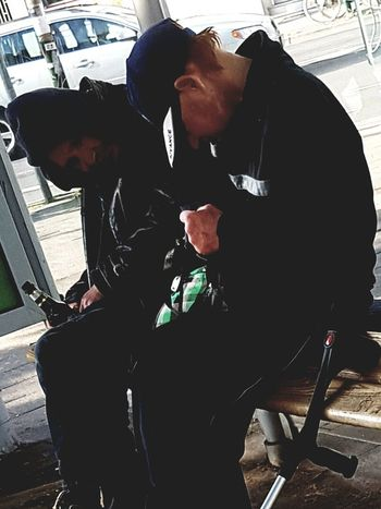 People People_collection People Photography People On The Street Portrait Photography Two People Two Men City Street City Life Street Life Street Photography Battle Of The Cities Homeless People Portrait Collection Sitting Drinking Beer Wonderful Life Galaxy S7 Edge