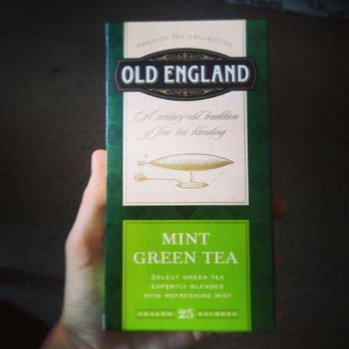 OldEngland Greenmint Tea