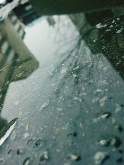 rainy day means reflection shots day! Reflection Focusing Water Reflection Streetphotography