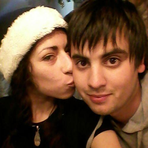 Boyfriend Pololo Chicolindo Teamo Inlove Love Enamorada Amor Feloz Navidad Fiestas Chritsmas Nochebuena Amore Gorrito Kiss Beso Alegría Corazón