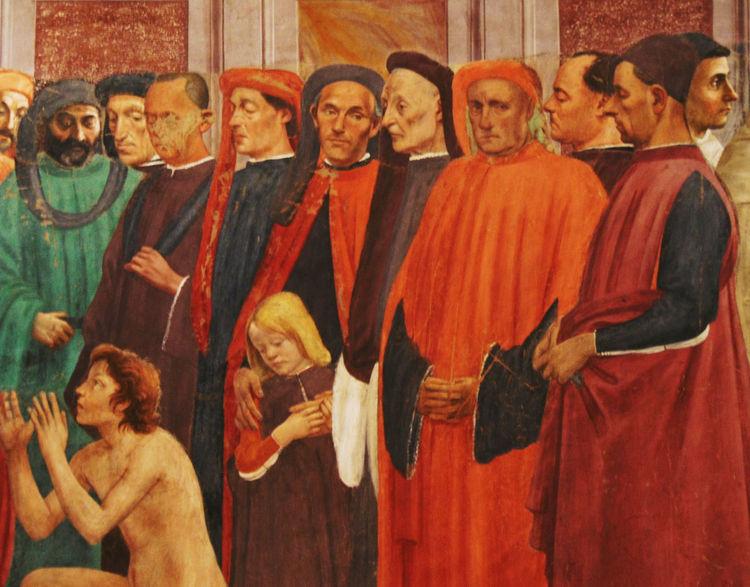 Art Cappella Brancacci Firenze Florence History Italia Italian Italy Masaccio Painting Tuscany