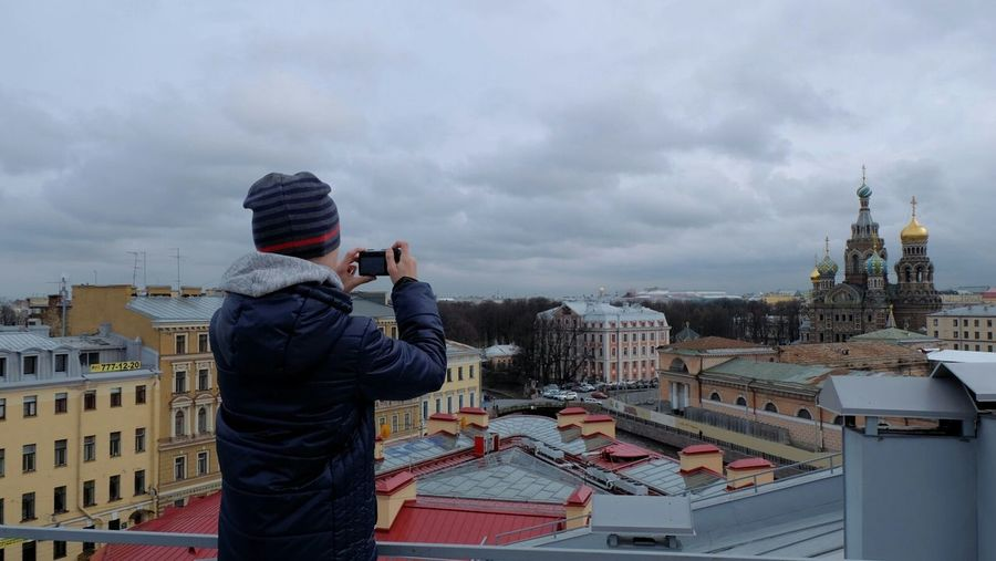 Church of the Savior on Blood Saint Petersburg Color Photography Walking On Roofs