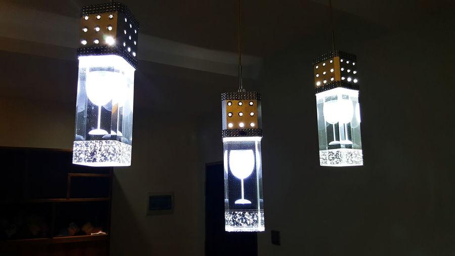 Friend's Apartment lighting Decorative Glass Shape Lighting Glass Shaped Hanging Illuminated Lighting Decoration Lighting Design Lighting Equipment Go Higher