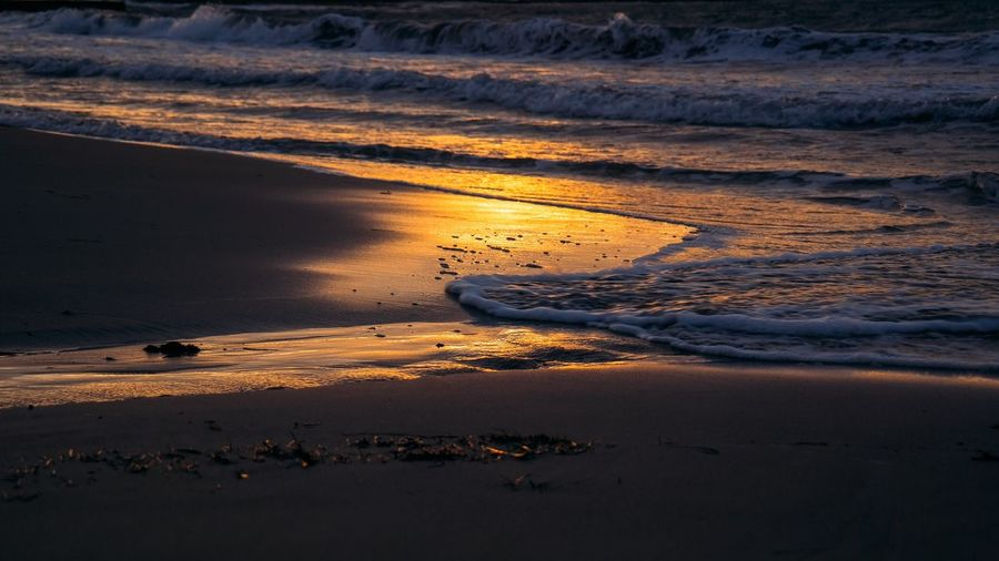 43 Golden Moments Seaview Summertime Sunset Fine Art Photography Light And Shadow Waves