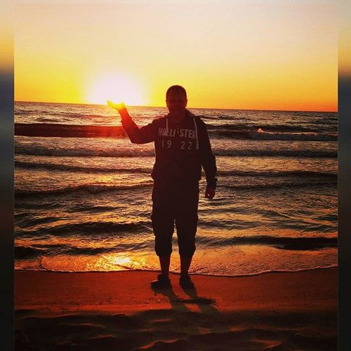 Sonnenaufgang Usedom Bansin
