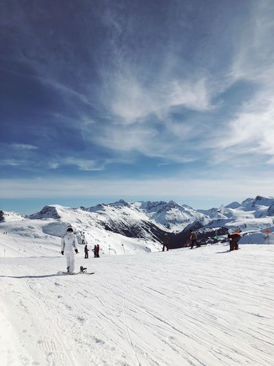 Blackcomb Whistler EyeEm Selects Snow Sky Cold Temperature Winter Cloud - Sky Nature Environment