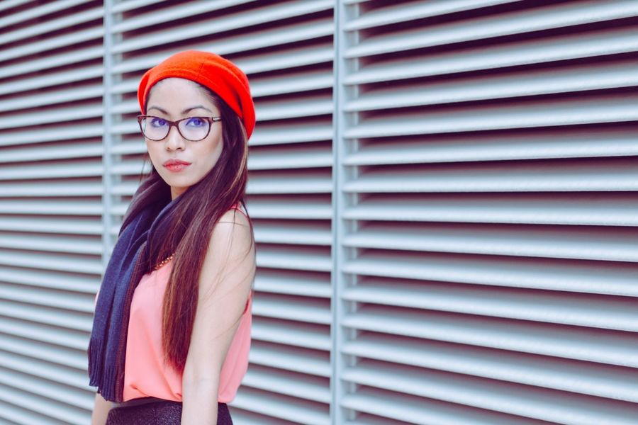 Who has the eye for fashion? Eyeglasses  Red Women Teenager Hipster - Person Lifestyles Arts Culture And Entertainment Young Adult Beauty Adults Only One Woman Only One Person Females Teenage Girls Streetfashion Streetstyleshoot Street Portrait Streetstyle Streetportrait Best EyeEm Shot Blogger Beautiful People EyeEmBestPics Portrait People EyeEmNewHere