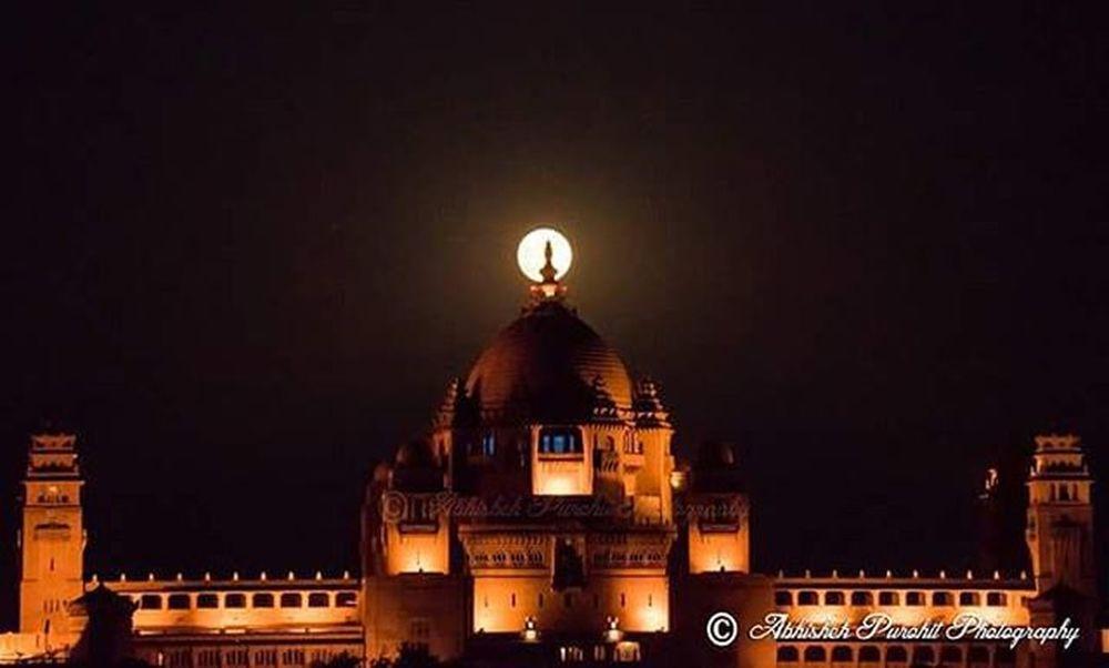 Jewel in the Crown Photographie  Rajasthan Like4like Bluecity Jodhpuri UmaidBhawan Astrophotography Fullmoon Nightphotography India Indian Ithappensonlyinin Soi