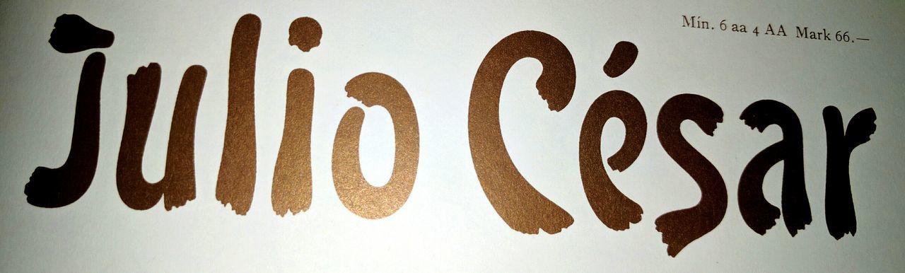 Imperium Romanum Giulio Cesare Font Pintoresca Lettering Typography Type Design Graphic Design Specimen Renacimiento Espanyol Photography Nexus6P