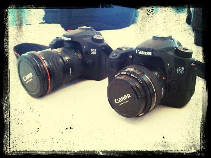 Cannon 70d Photoaparat